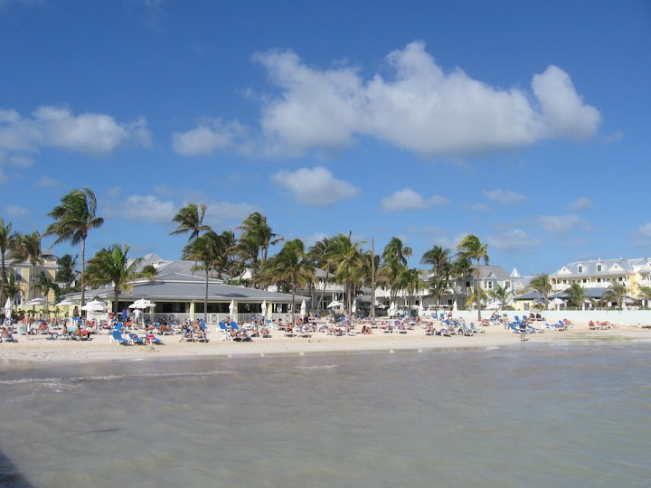 Plage au sud de Key West