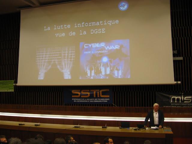 Keynote par Bernard Barbier, directeur technique de la DGSE