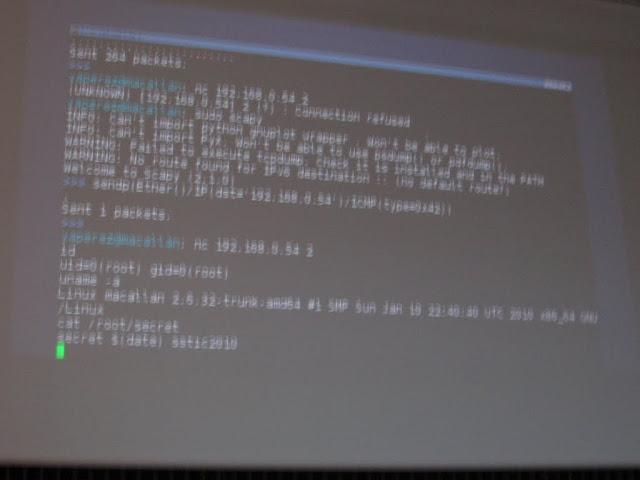 Exploitation de buffer overflow dans le firmware d'une carte réseau