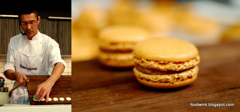 30 days home and entertaining sydney baroque bistro macarons