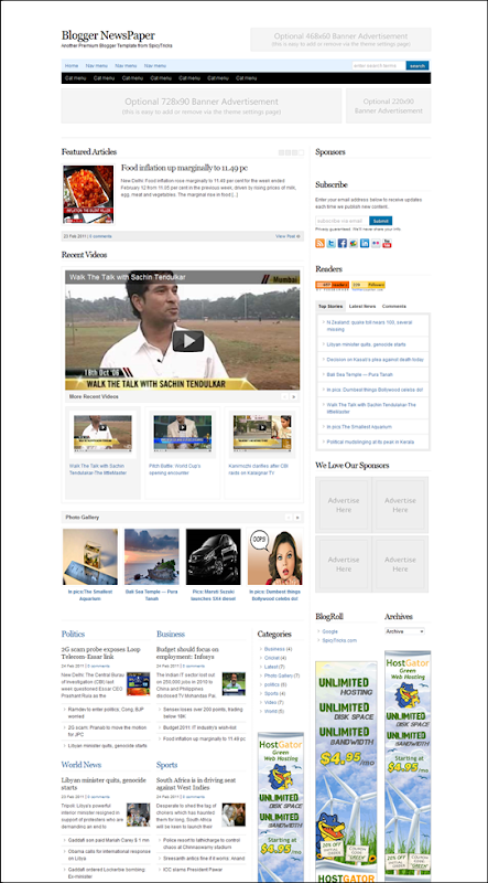 Blogger NewsPaper bloggernewspaper_blogspot_com