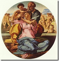 Michelangelo_The Holy Family 1507