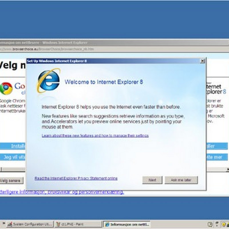 Opera after Microsoft again. Says browser-ballot is hidden by IE wizard