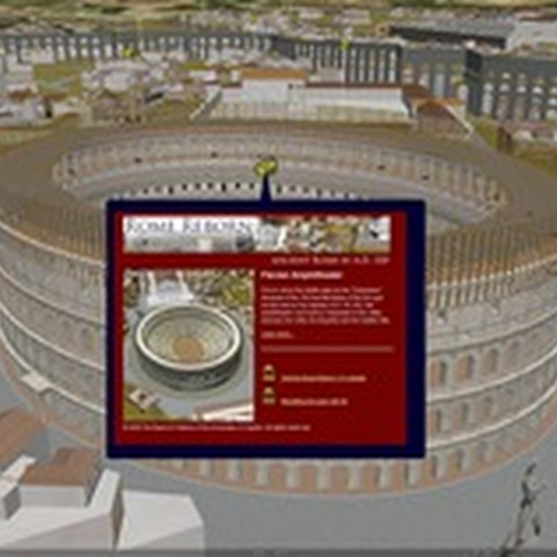 View ancient Rome in 3D with Google Earth