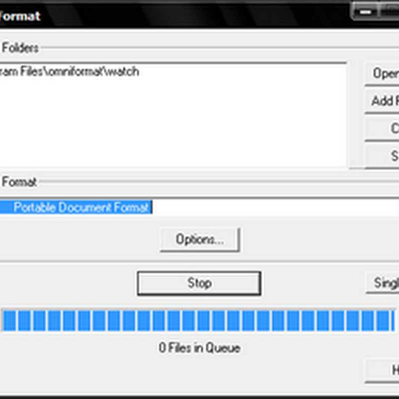 Automatically convert almost any file format with OmniFormat