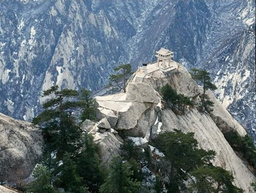 huashan west peak summit