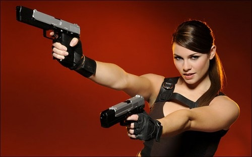 Boy is she hot alison caroll lara croft 7