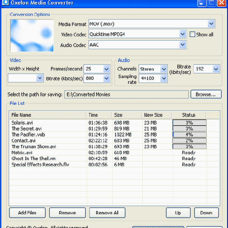Oxelon Media Converter – Convert media files from Explorer context menu
