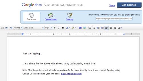 google-docs-demo