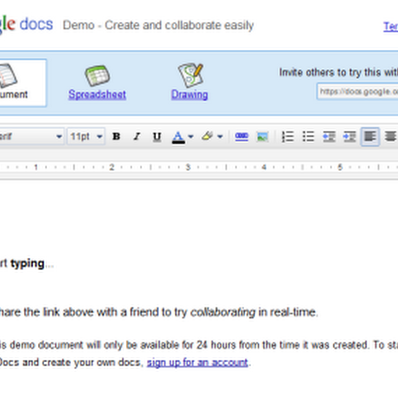 Now try Google docs without a Google account