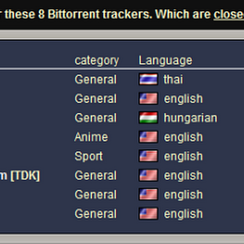 6 Tracker Checkers to find private BitTorrent trackers with open signups