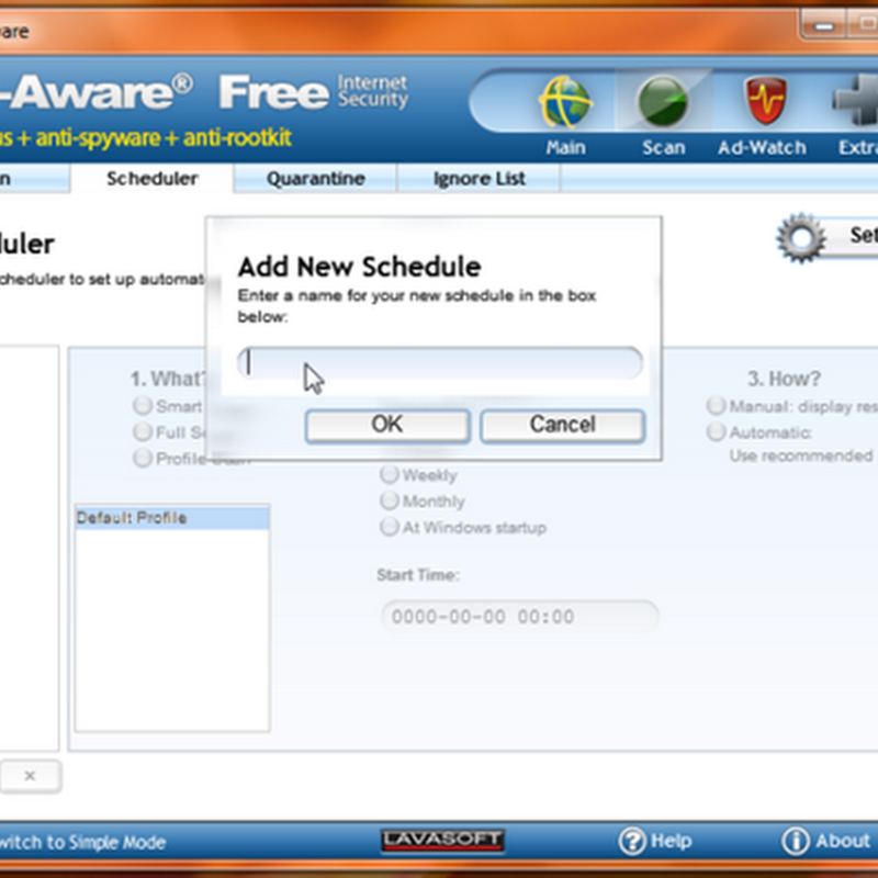 Antivirus included in Lavasoft Ad-Aware Free