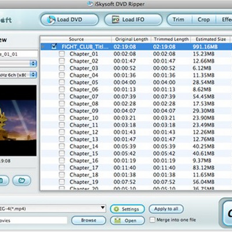Free iSkysoft DVD to iPhone Converter for Windows and Mac