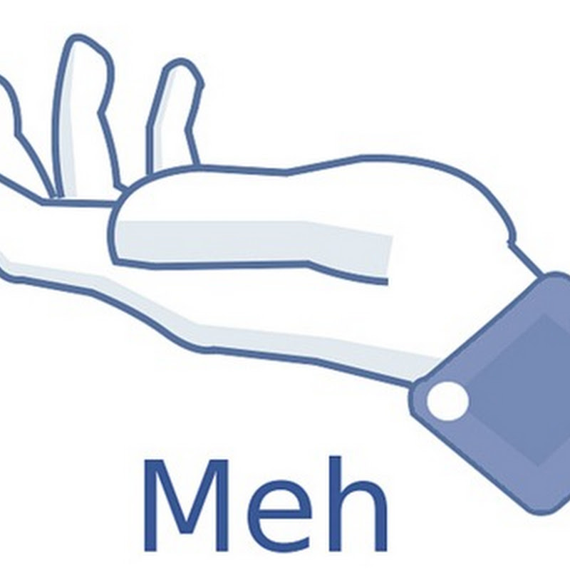 Forget the Facebook Dislike button. Here is the Meh button