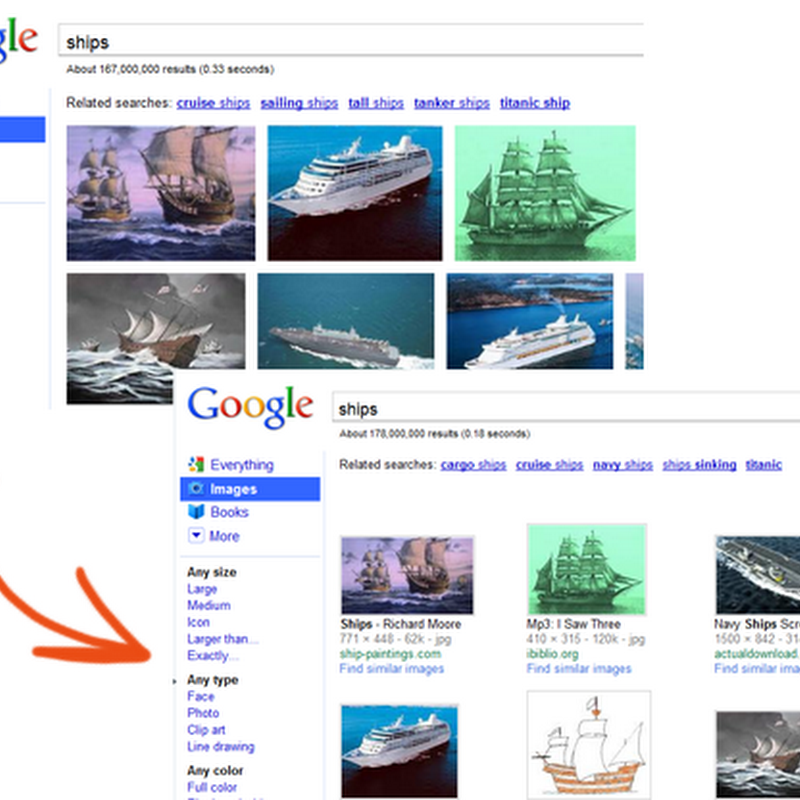 How to get back the old Google image search layout