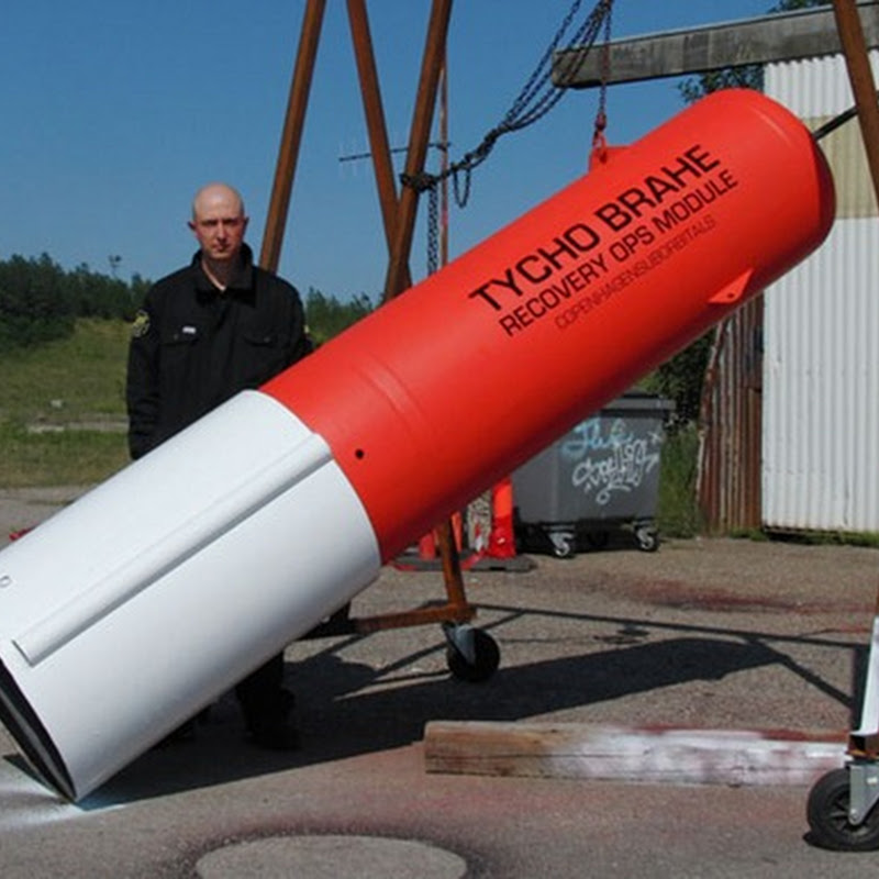 World's first private rocket to launch a human into space