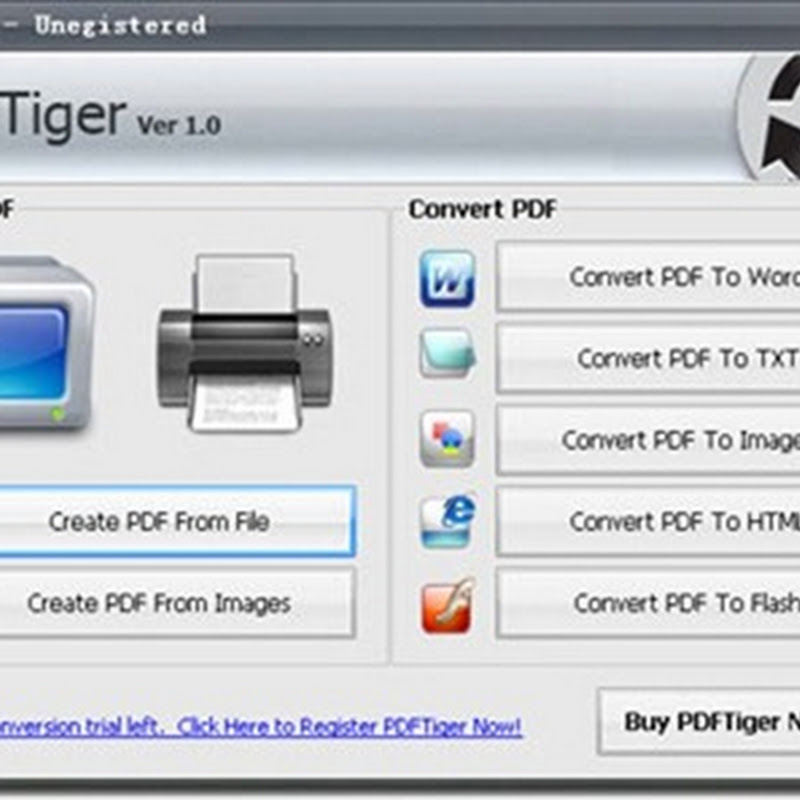 PDFTiger is available for free for a limited time