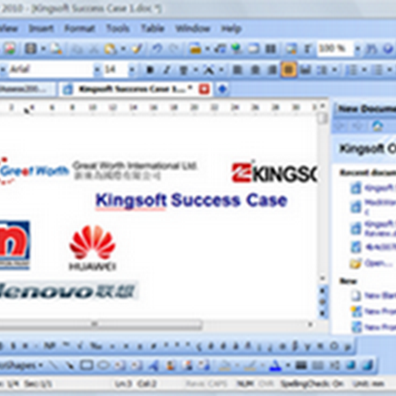 Kingsoft Office 2010 Professional Free license key