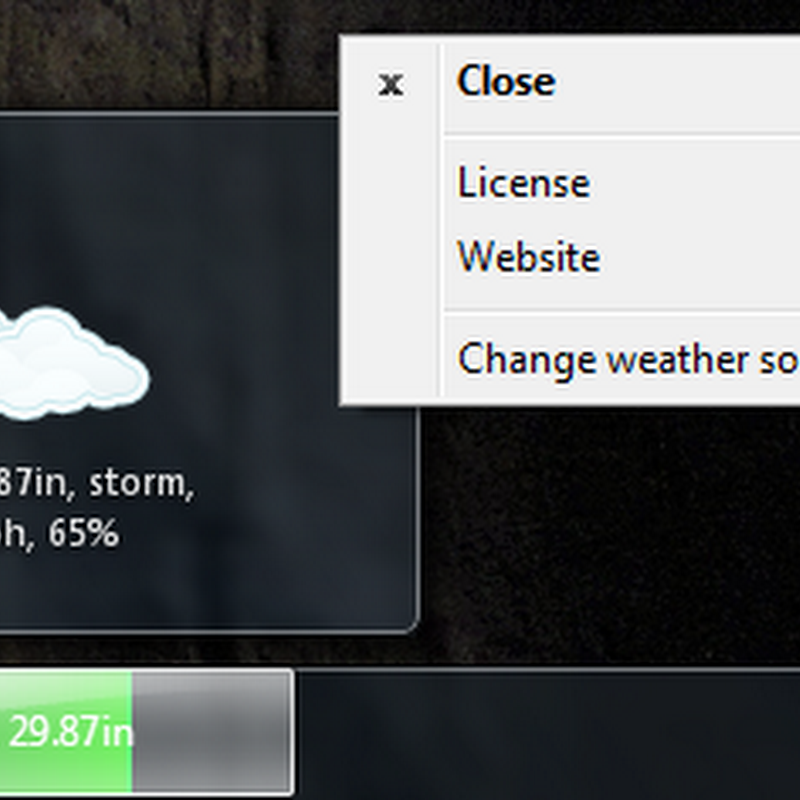 Get weather reports in Windows taskbar with Nimi Indicator Weather