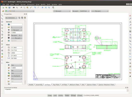 Draftsight free cad software for windows and linux for Windows cad software