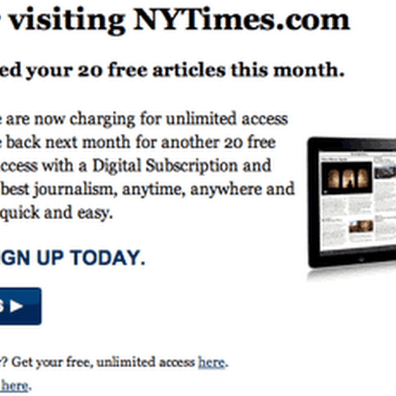 Different Ways to Read New York Times For Free