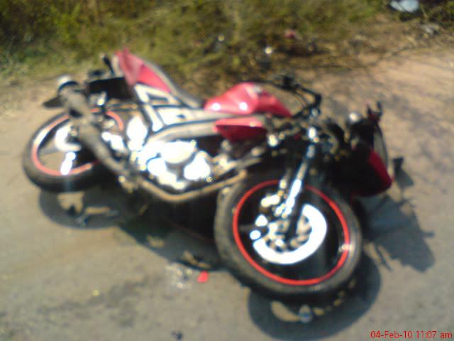 narrative essay bike accident