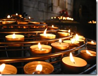 candles and prayers