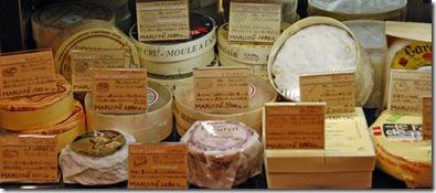 vetrina di formaggio