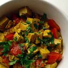 Mild Coconut Tofu Curry