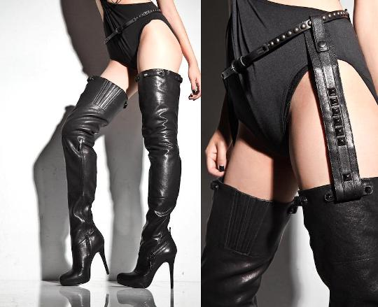 Report's Sexy Thigh High Boots — Monica Rose