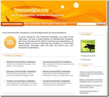Templateswise powerpoint templates web tools image toneelgroepblik Images