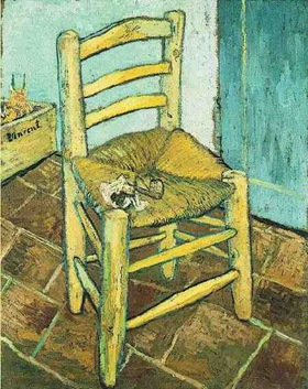 Vincent's Chair with His Pipe