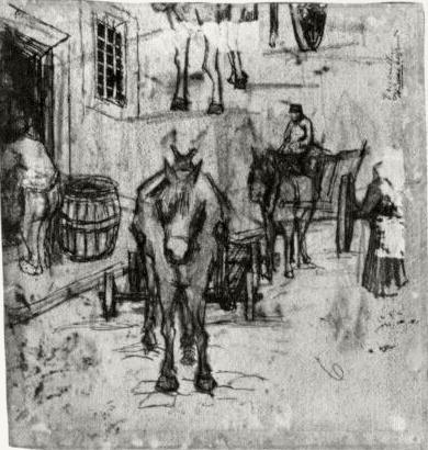 Studies of Donkey Carts