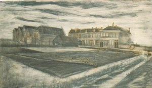 The Houses on Schenkweg where Van Gogh Lived