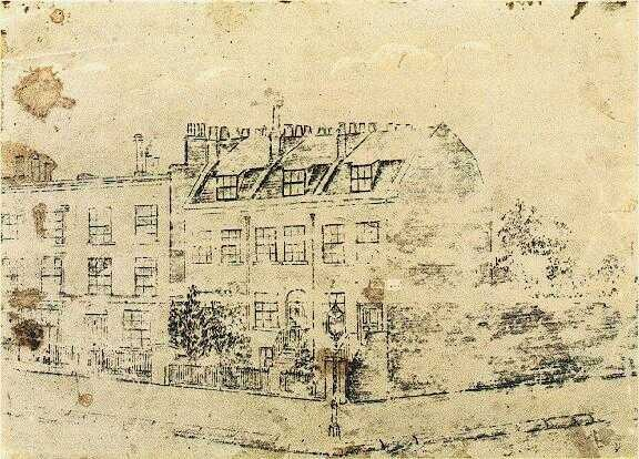 Vincent's Boarding House in Hackford Road, Brixton, London