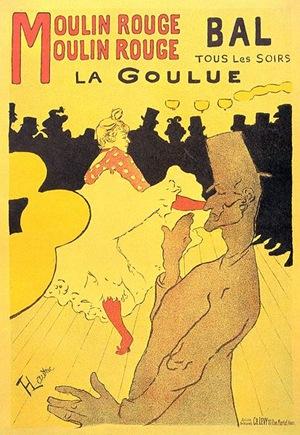 Henri de Toulouse Lautrec - Moulin Rouge poster