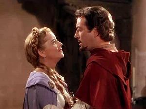 Ivanhoe and Rowena