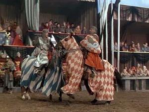 Ivanhoe vs. De Bois-Guilbert
