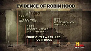 Eight Outlaws Called Robin Hood