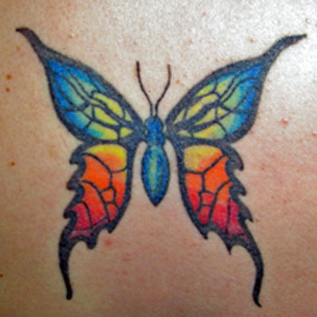 butterfly tattoo pictures. In some Butterfly Tattoo