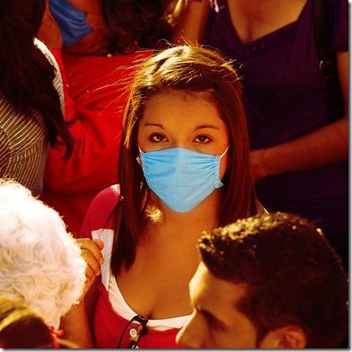 Influenza na cidade do México, em 2009.