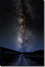 Imagem da Via Lactea feita por Larry Landolfi em Fort Davis, Texas.