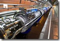 O LHC, do CERN.