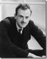 Paul Dirac, físico teórico britânico.