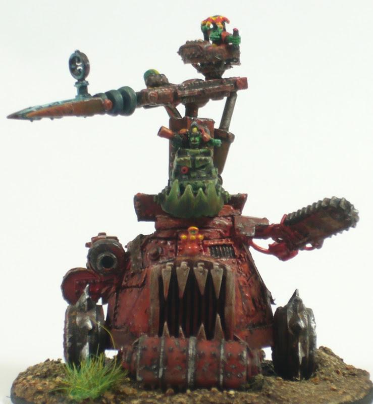 TheKet - Orks 3000 points - Terminé - Page 2 GargFace