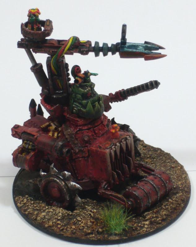 TheKet - Orks 3000 points - Terminé - Page 2 GargGauche