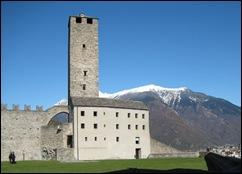 Bellinzona Castelgrande Tower