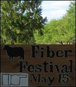 Fiber Festival Sign