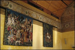 Tapestries in Chapel Royal