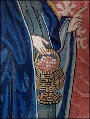 Basel tapestry basket